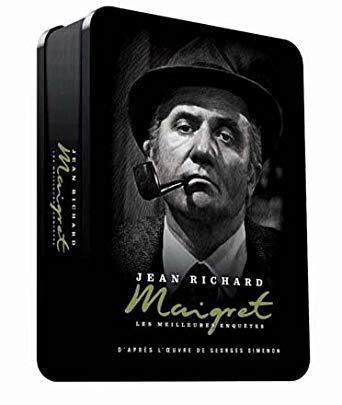 coffret dvd maigret jean richard