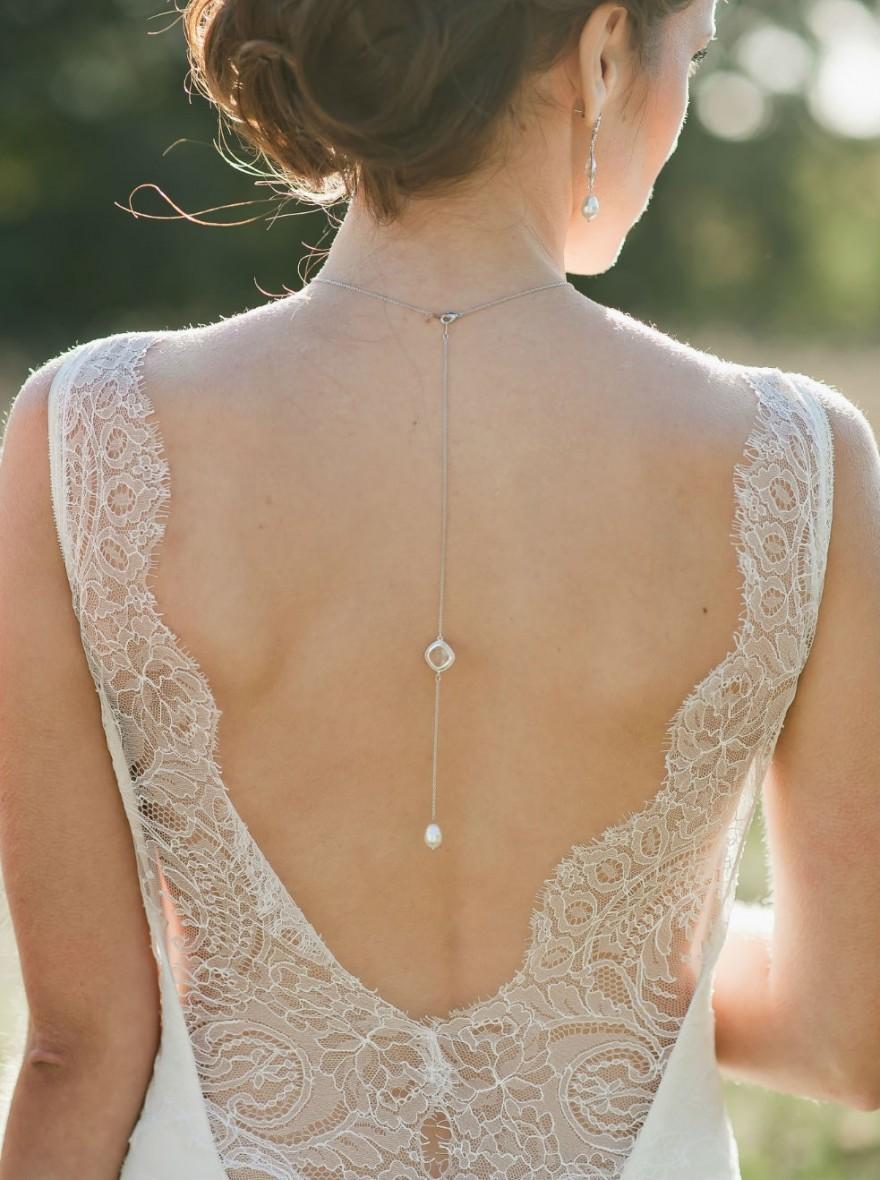 collier de dos mariage