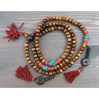 collier mala tibétain
