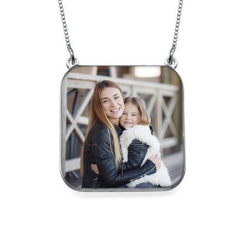 collier personnalisé photo