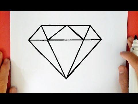 comment dessiner un diamant