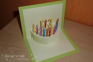 comment faire une carte d'anniversaire en 3d
