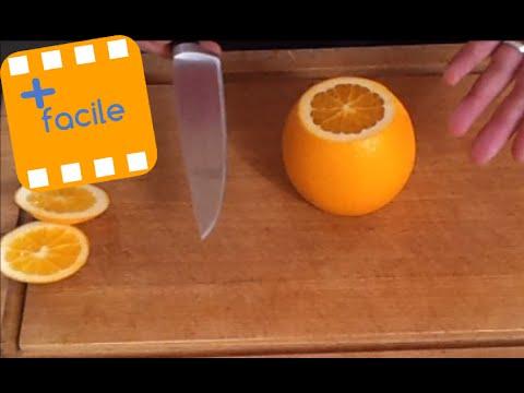 comment presser une orange sans presse agrume