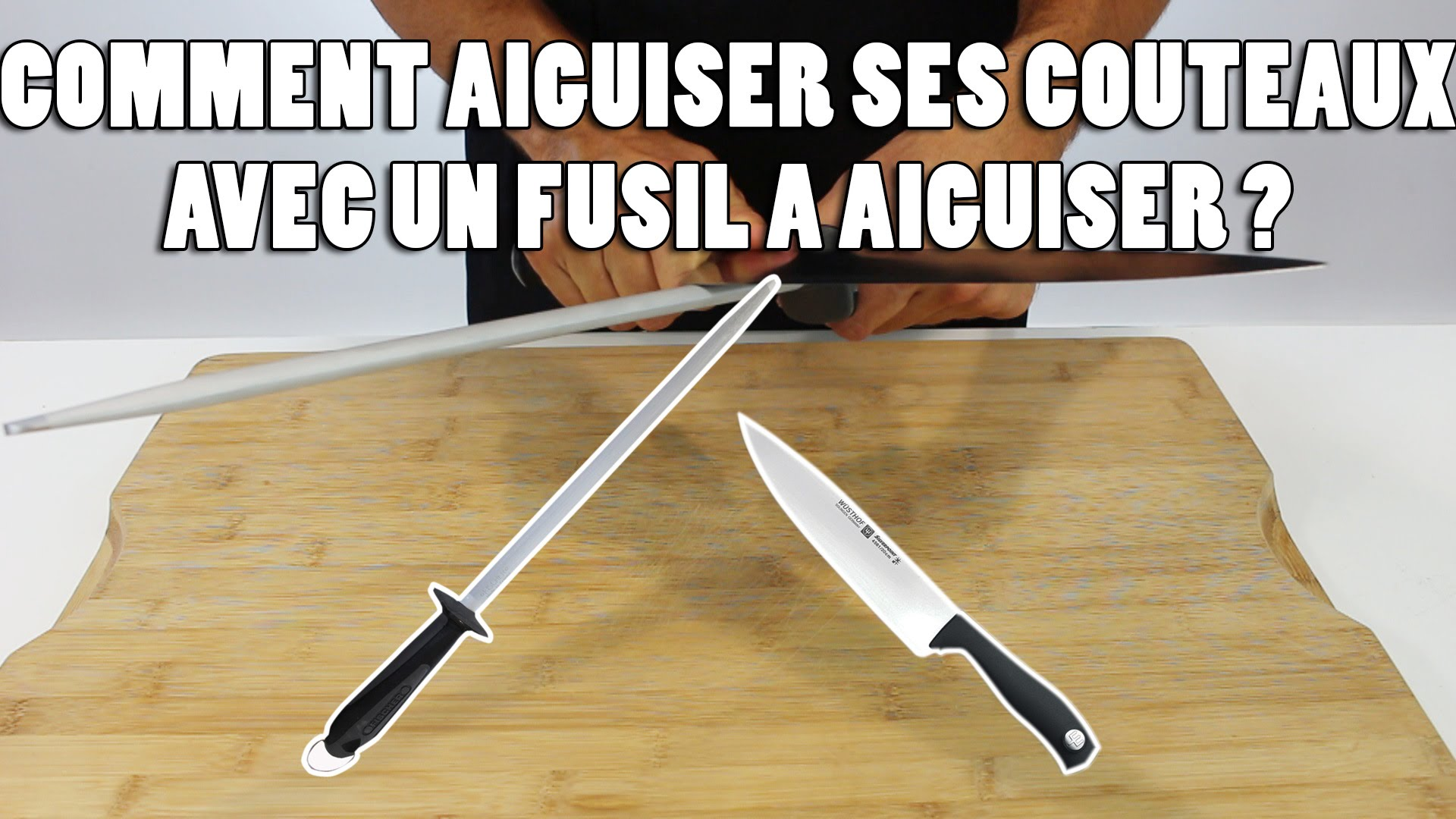 comment utiliser un aiguiseur de couteau