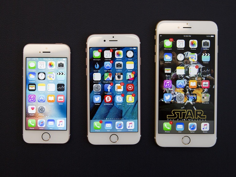 comparaison iphone se et iphone 6