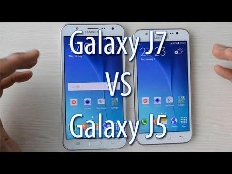 comparaison j5 et j7