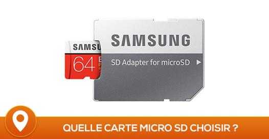 comparatif carte micro sd
