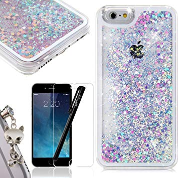coque iphone 6s paillette
