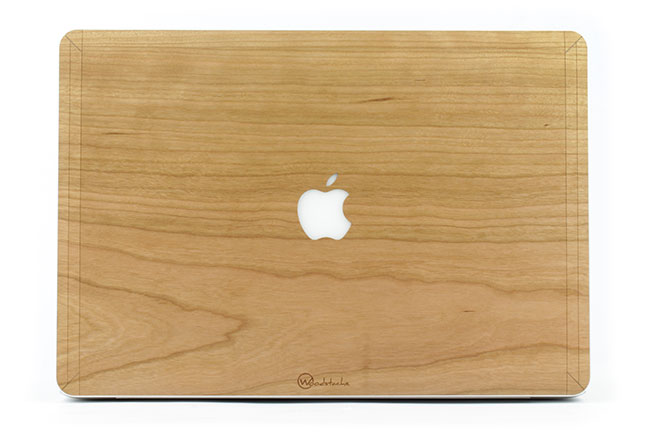 coque macbook air bois
