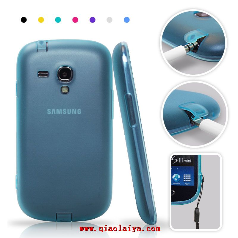 coque samsung galaxy s3 mini silicone