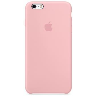 coque silicone rose iphone 6