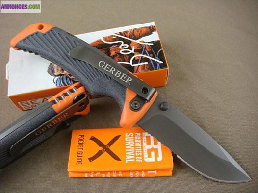couteau de survie pliant gerber