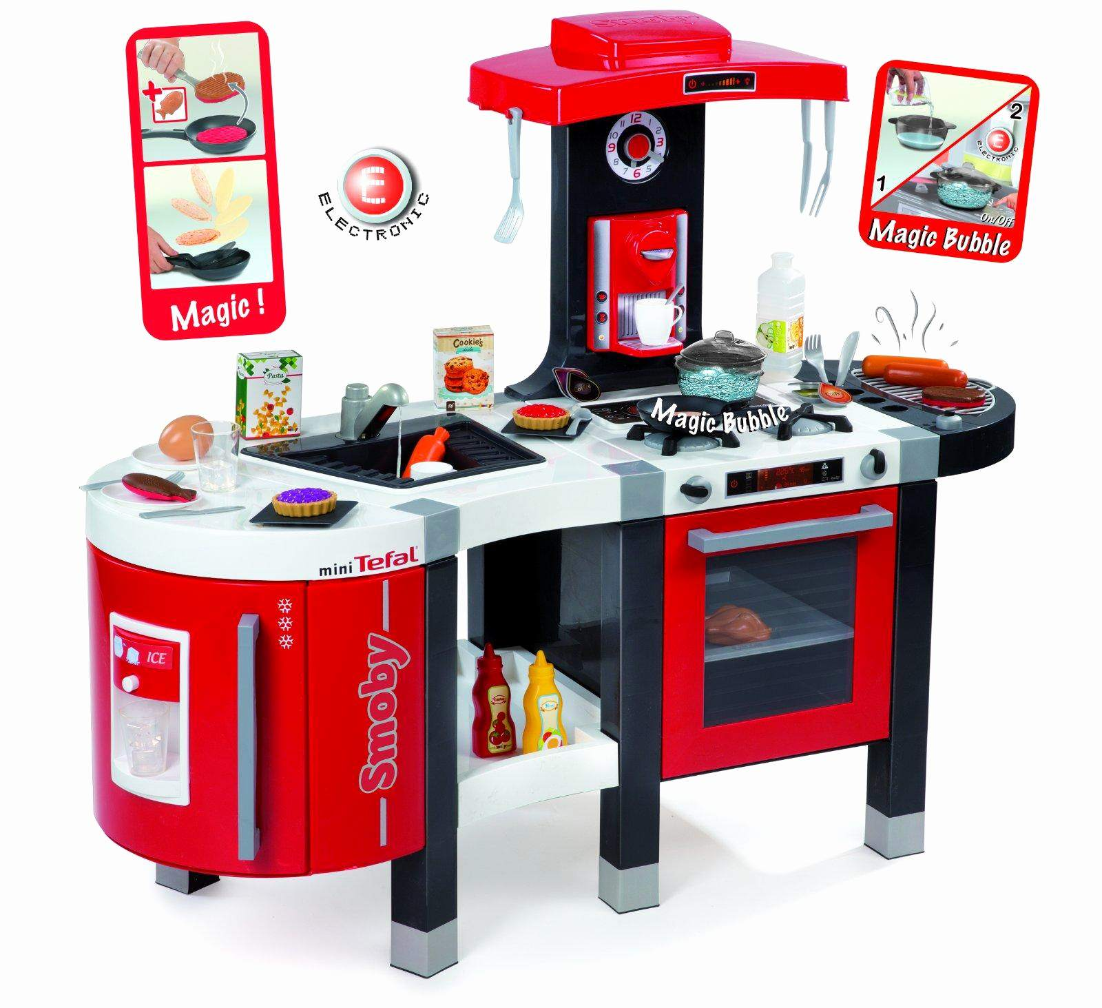 cuisine tefal french touch smoby