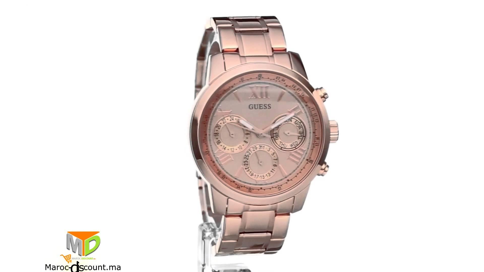 d une montre guess femme