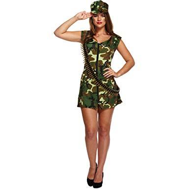 deguisement militaire femme amazon