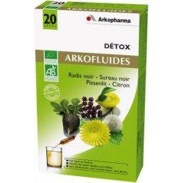 detox arkofluides radis noir sureau noir pissenlit citron