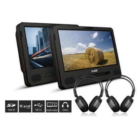 double lecteur dvd portable 9 pouces
