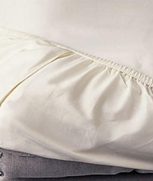 drap housse coton