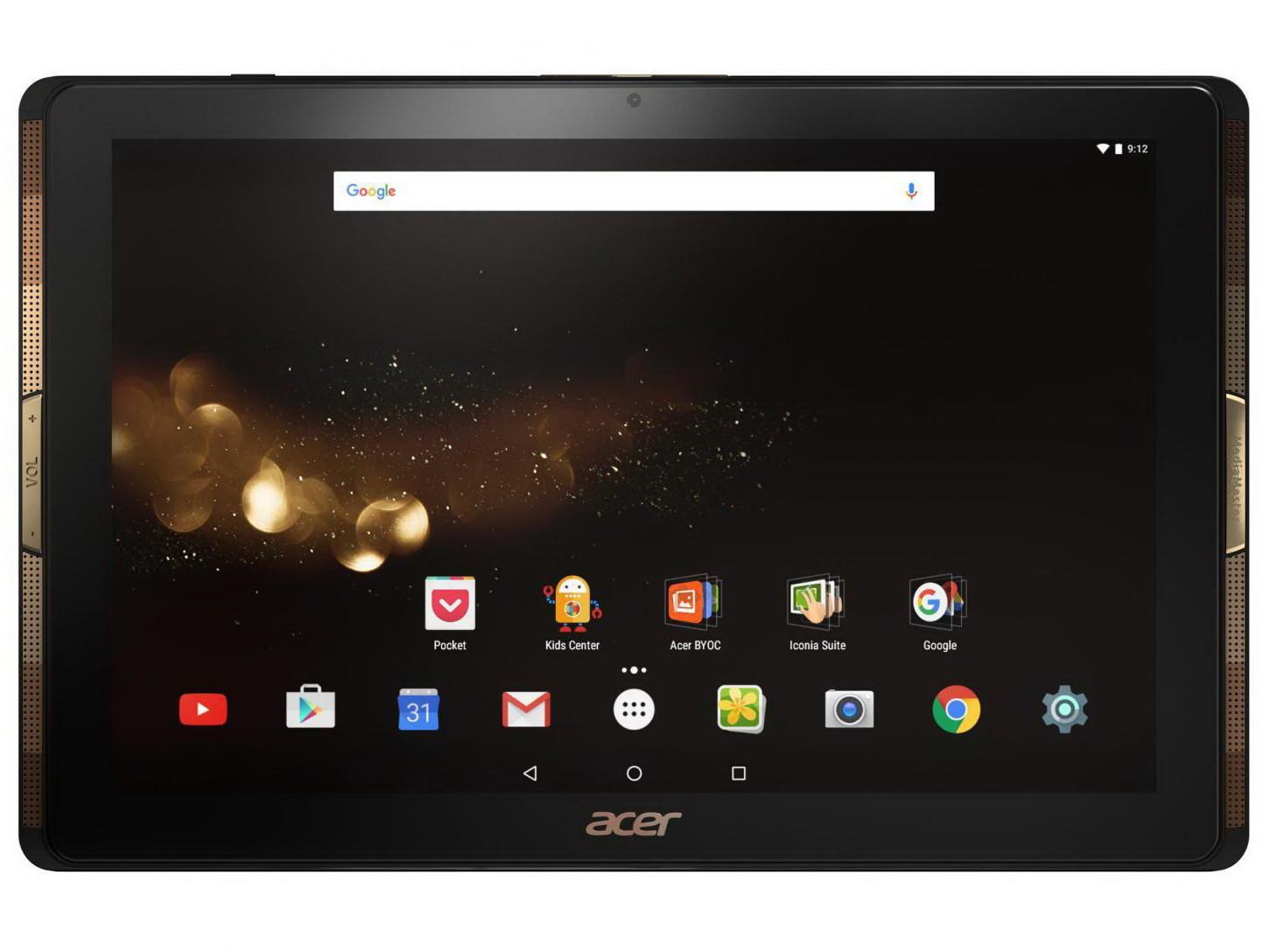 ecran tablette acer