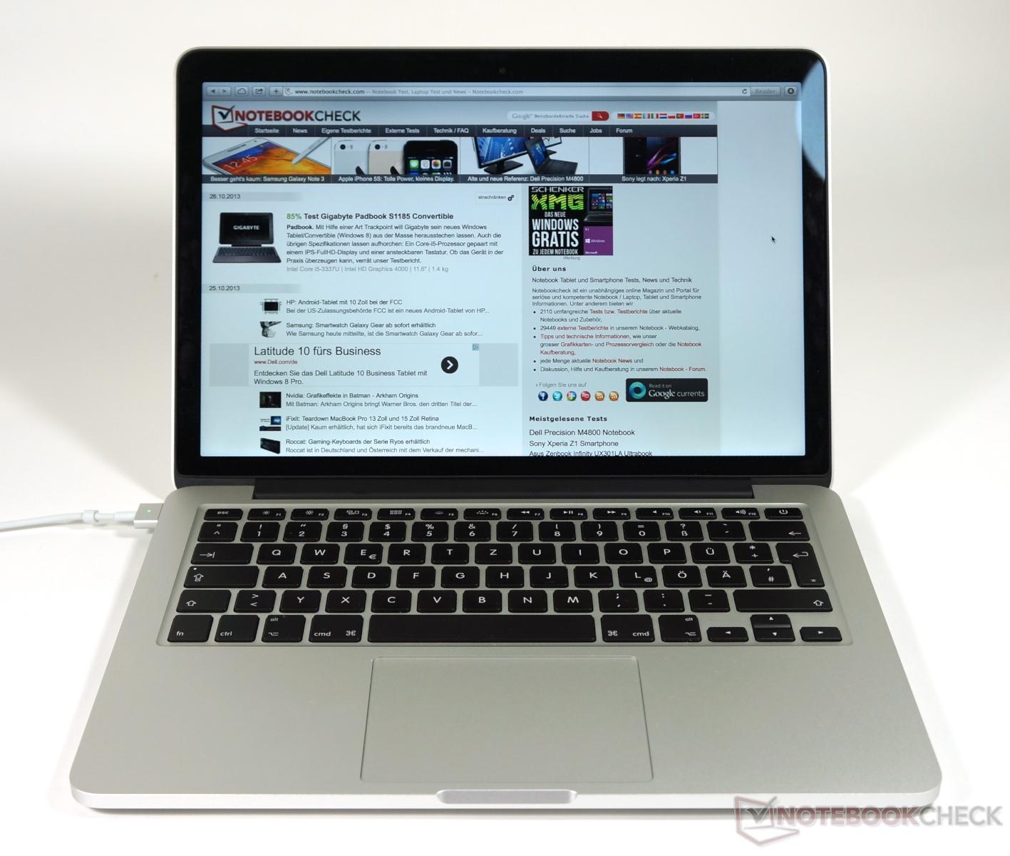 essai macbook pro retina 13