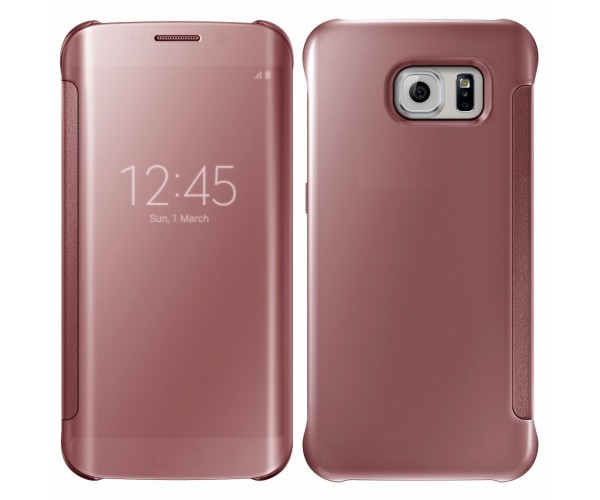 etui samsung galaxy s7 edge rose