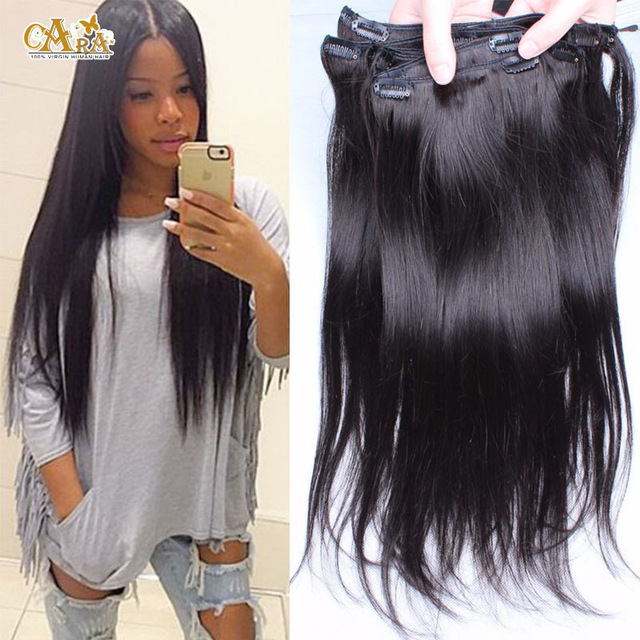 extension cheveux humain clip