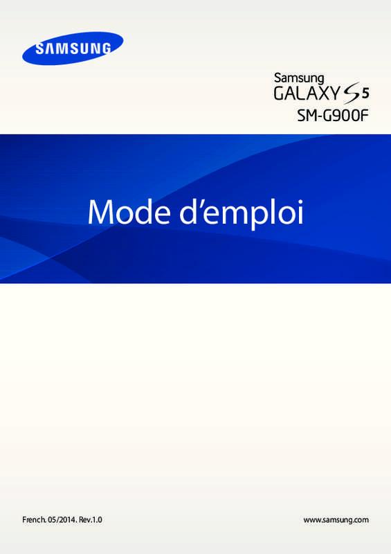 galaxy s5 mode d'emploi