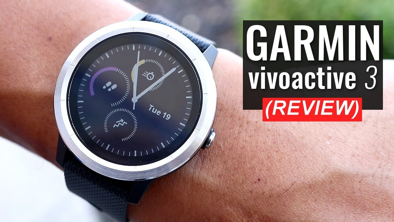 garmin vivoactive 3 test