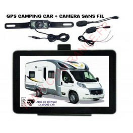 gps camping car camera de recul