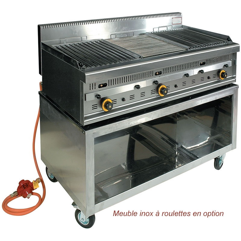 grill a pierre de lave professionnel