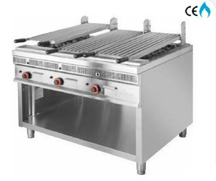 grill pierre de lave professionnel