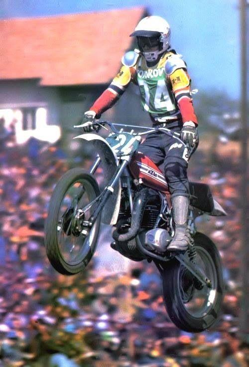 guide vert moto cross