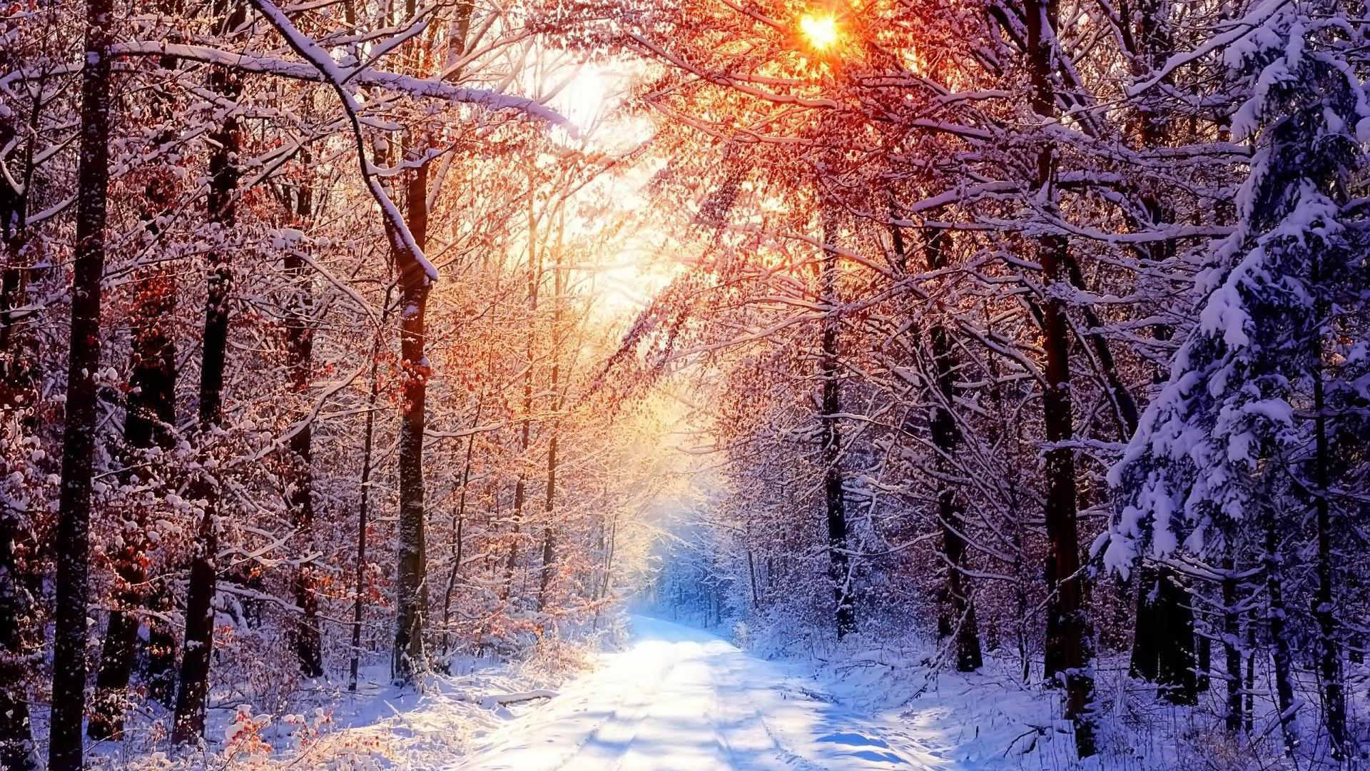 hiver fond d écran gratuit