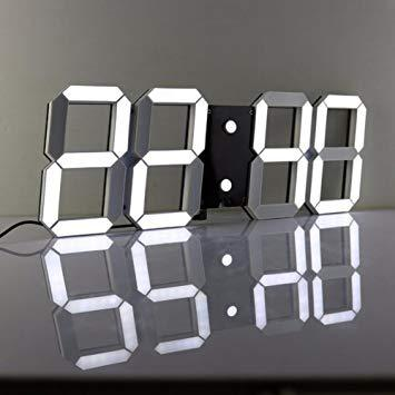 horloge digitale murale led