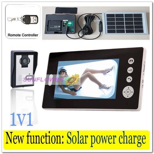 interphone solaire sans fil