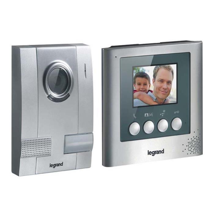 interphone video sans fil legrand