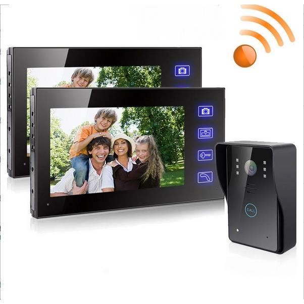interphone visiophone sans fil