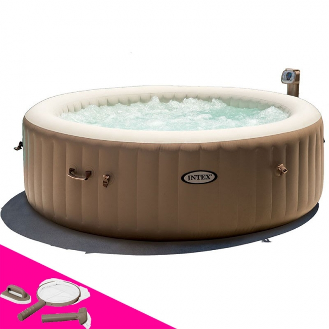jacuzzi intex 4 places