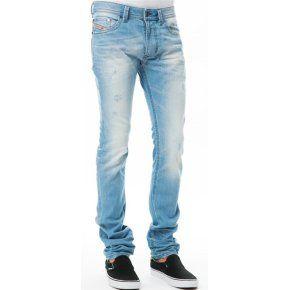 jean diesel homme bleu clair