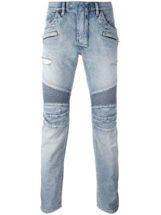 jeans balmain biker