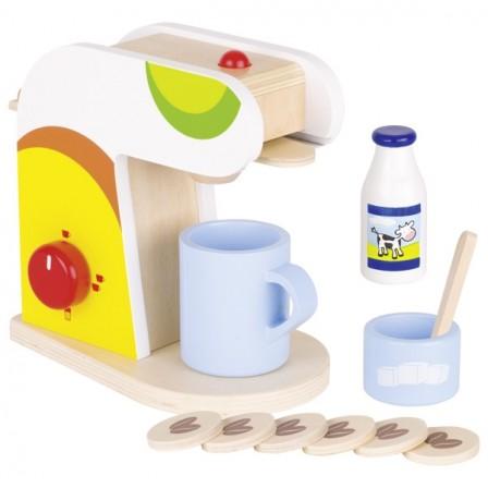 jouet cafetière bois