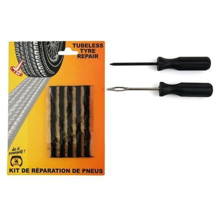 kit de réparation pneu voiture