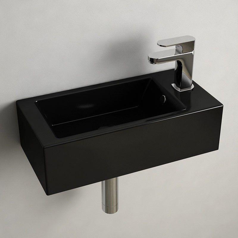 lave mains noir