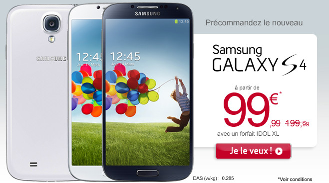 le prix de s4