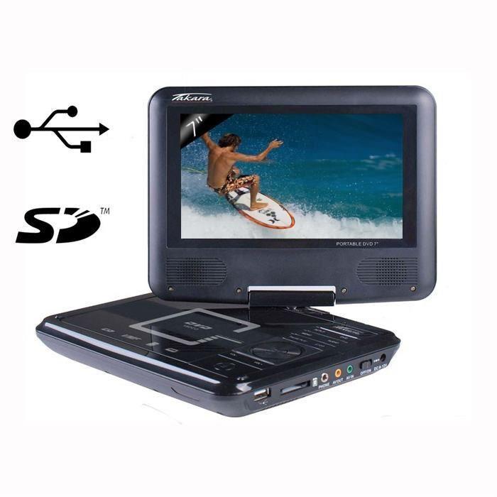 lecteur dvd portable pas cher