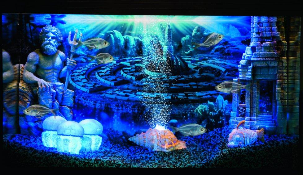 led aquarium decorations
