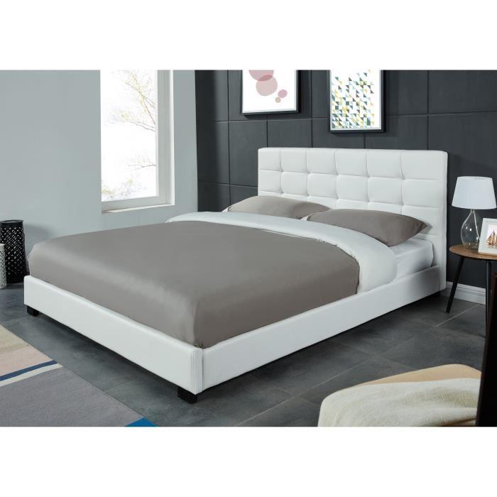 lit 2 places avec sommier