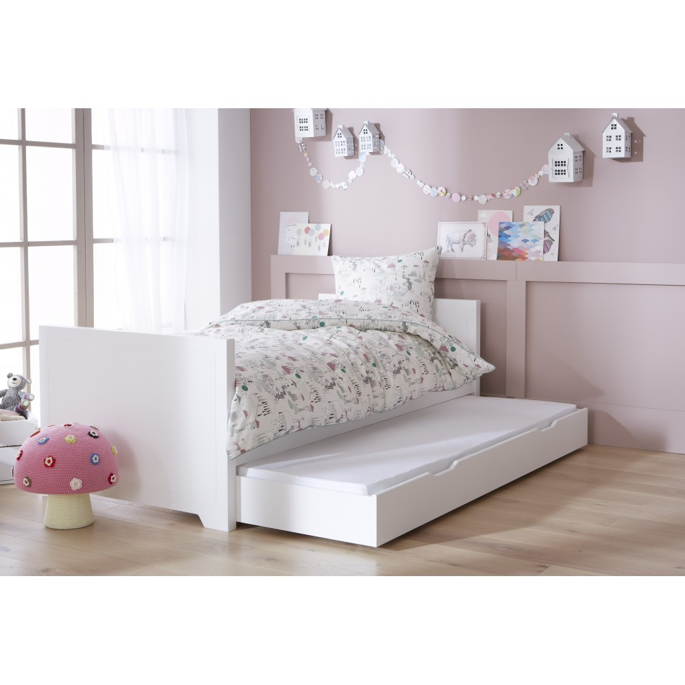 lit 90x200 blanc