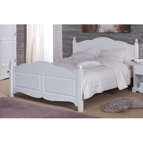 lit blanc pas cher