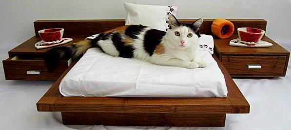 lit de luxe pour chat